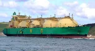 ضرب العجل چین برای ساخت کشتی حمل گاز مایع طبیعی