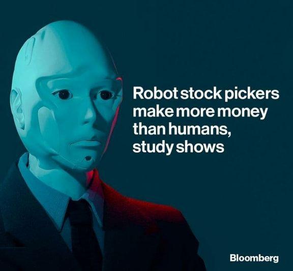 رباتها بورسبازان بهتری هستند/ معاملات بدون تعصب، رمز موفقیت رباتها!