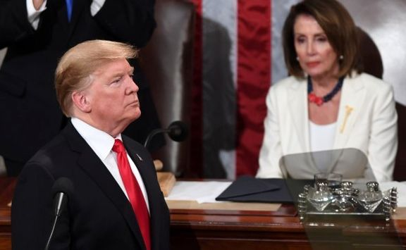 رئیس مجلس نمایندگان آمریکا با ارجاع پرونده استیضاح ترامپ به مجلس سنا موافقت کرد