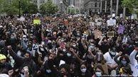 تجمع ده ها هزار معترض علیه نژادپرستی در خیابان های هالیوود شهر لس آنجلس آمریکا
