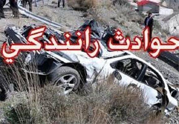 تصادف مرگبار در جاده میانه- زنجان جان ۳ عضو یک خانواده را گرفت