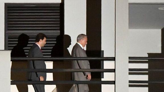 رئیس جمهور سابق برزیل زندانی شد
