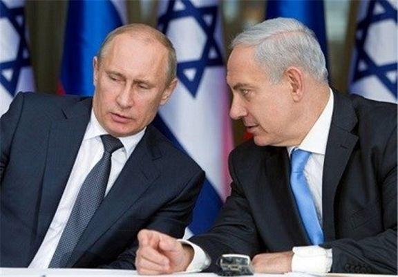 دیدار  نتانیاهو با پوتین  در مورد  اوضاع ایران و سوریه