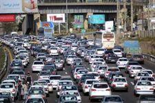 آزادراه تهران - کرج دچار ترافیک سنگین شد