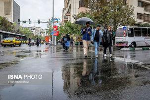 شدت بارش ها در کشور افزایش پیدا می کنند