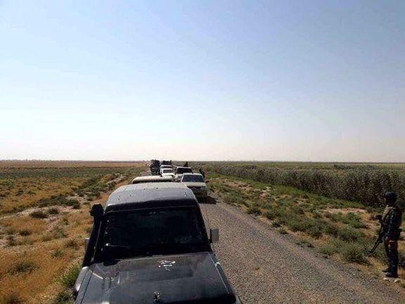 حشد شعبی همچنان در مناطق دشت نینوا حضور دارند