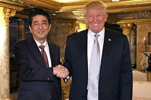 ترامپ از نخستوزیر ژاپن خواست هر چه سریعتر به ایران سفر کند