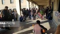 مراسم یادبود دانشجویان دانشگاه تهران برای جان باختگان سقوط هواپیمای اکراینی