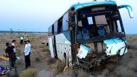 تصادف اتوبوس زائران اربعین در آزادراه پل زال/  ۲۱ نفر مصدوم شدند