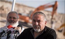 لیبرمن: تمام تلاش اسرائیل جلوگیری از جنگ با ایران است