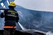 یکی از کارخانههای شرکت دولتی نفت جمهوری آذربایجان دچار حریق شد