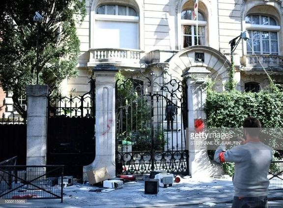 بهرام قاسمی تلاش عده ای معاند برای تعرض به سفارت ایران در فرانسه را تأیید کرد