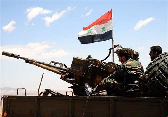عملیات ارتش سوریه به سمت التنف / حضور نیروهای آمریکایی در التنف در جنوبی شرقی  سوریه