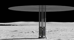 چرا ناسا می خواهد روی کره ماه نیروگاه هستهای بسازد؟