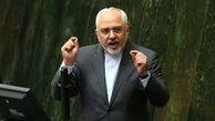 اصرار ظریف برای اتمام جلسه پاسخ به سوال نمایندگان و رسیدن به جلسه شورای عالی امنیت ملی + فیلم