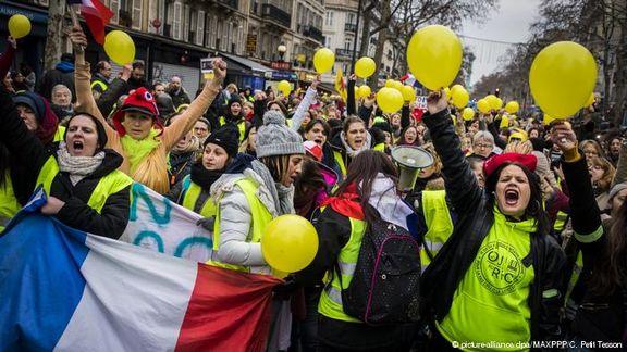 پلیس فرانسه به حالت آماده باش درآمد / جلیقه زردها دوباره راهی خیابان ها خواهند شد