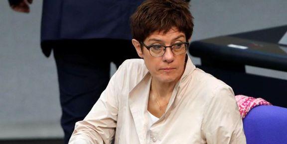 سفر ناگهانی وزیر دفاع آلمان به بغداد