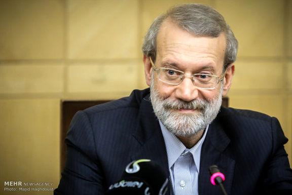 حضور لاریجانی در جلسه جامعه مدرسین برای بررسی FATF