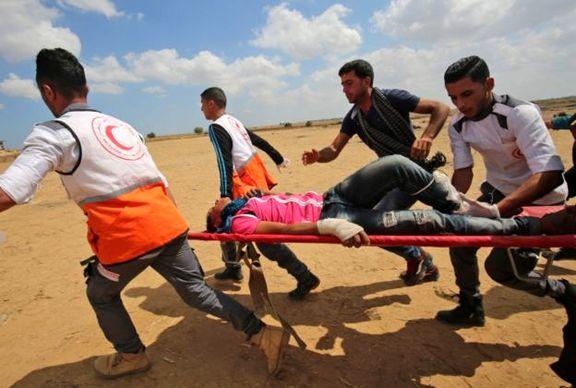 کشتار وحشیانه فلسطینیها توسط ارتش اسرائیل / 61 نفر کشته و بیش از  2500 نفر زخمی شدند