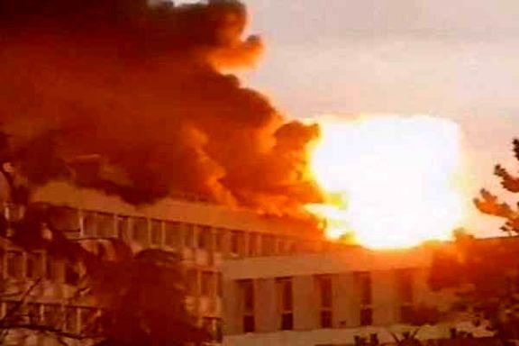 آتش سوزی در پیست اسکی فرانسه  جان ۱۴ نفر را گرفت