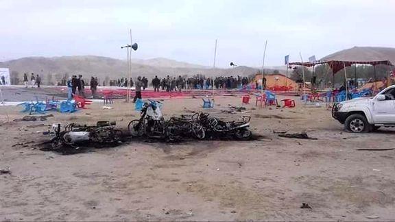 12 کشته در حادثه تروریستی افغانستان