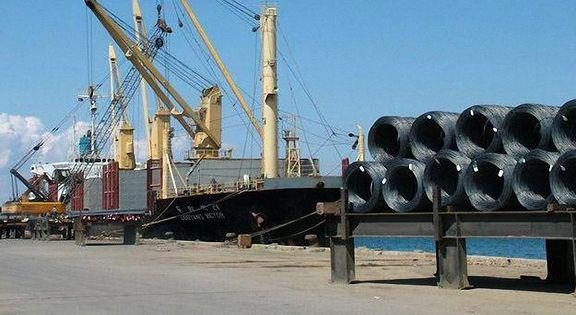 کاهش ۲۹ درصدی صادرات فولاد ایران
