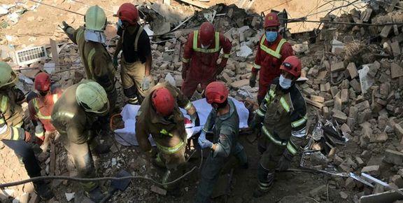 تمامی کارگران ساختمان سه طبقه ظفر فوت شدند