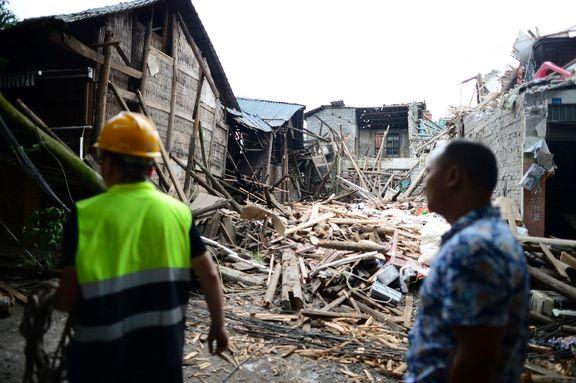 زمینلرزه ۵/۶ ریشتری چین۱۳ زخمی برجای گذاشت
