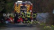 مرگ سه نفر بر اثر برخورد یک هواپیمای سبک به آپارتمانی در شهر وسل آلمان