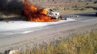 برخورد دو دستگاه خودرو سواری در جاده فراشبند_جم/ 7 نفر کشته شدند