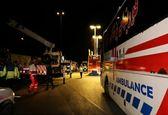 فیلمی از واژگونی اتوبوس در اصفهان با 9 کشته و 18 مصدوم + فیلم