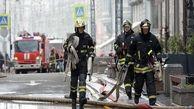 آتشسوزی مهیب در مسکو ۳۰۰ نفر از ساکنان را مجبور به ترک خانه هایشان کرد