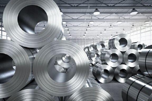 عرضه ۱۳۲ هزار تن ورق فولادی و یک هزار تن مس مفتول در بورس کالا
