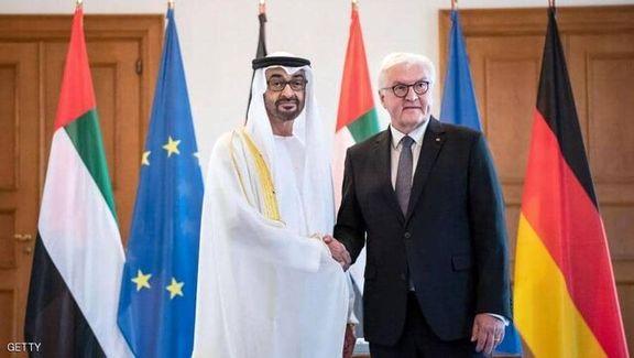 ولیعهد امارات و اشتاین مایر با یکدیگر در برلین دیدار کردند