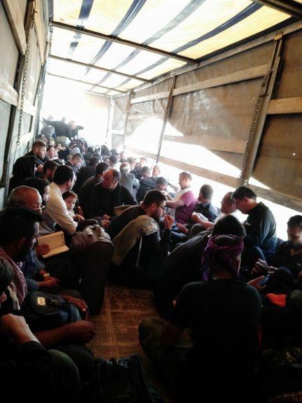 نیروهای حشدالشعبی به کمک زائران ایرانی آمدند