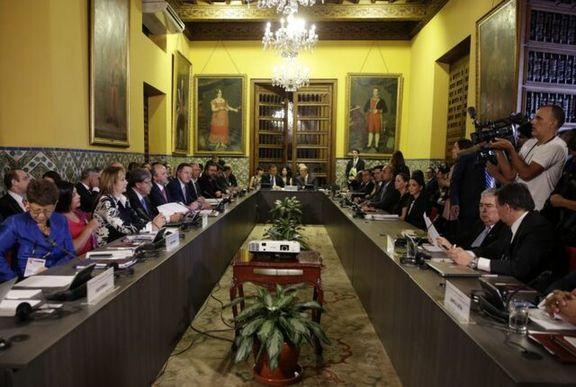 دولت پرو مادورو و کابینه اش را تحریم کرد