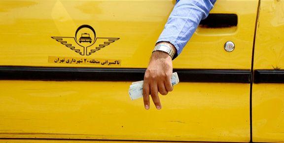 هشدار به تاکسیرانان/برخورد قانونی با تاکسی های بدون برچسب نرخ کرایه