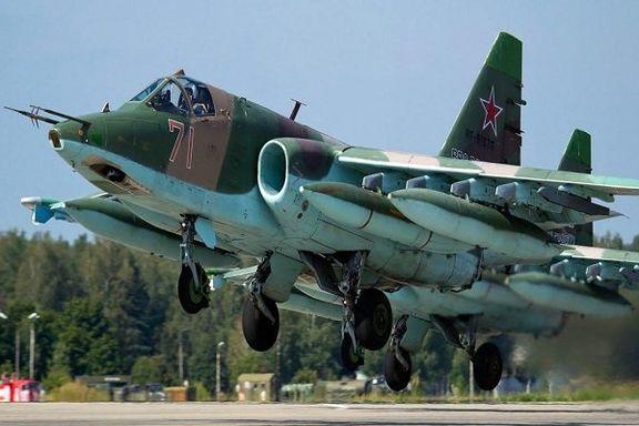جنگنده سوخو-۲۵ ارمنستان سقوط کرد