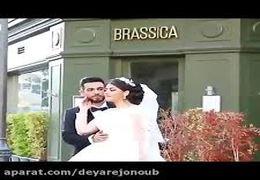 ویدیوی یک عروس دیگر در روز انفجار بیروت