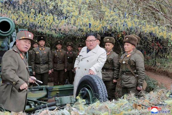 کره شمالی مانور جنگی می دهد