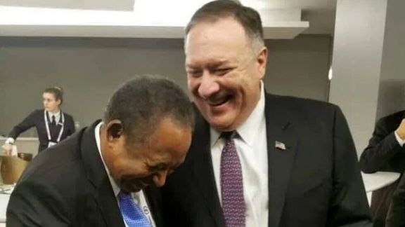 دیدار نخست وزیر سودان با وزیرخارجه امریکا تنش ایجاد کرد