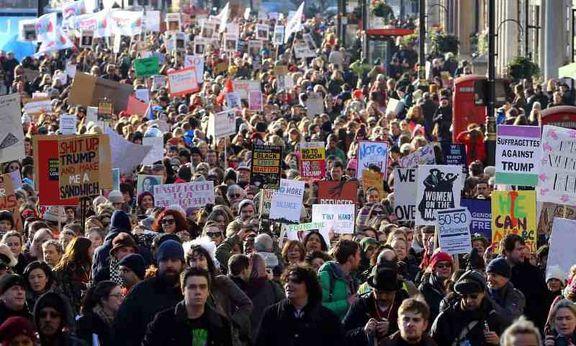 دونالد ترامپ از ترس اعتراضات در سفر به انگلیس در لندن اقامت نمی کند