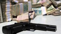 سرقت مسلحانه از بانک ملی در زاهدان + فیلم