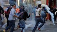 جلیقه زردها با پلیس درگیر شدند / هراس مقامات فرانسه از بازگشت خشونتها به فرانسه