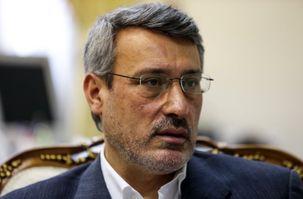 توئیت حمید بعیدی نژاد سفیر ایران در انگلیس در مورد مصاحبه ایران اینترنشنال با سخنگوی الأحوازیه