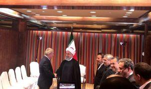 رئیس کمیته بین المللی المپیک با روحانی دیدار کرد