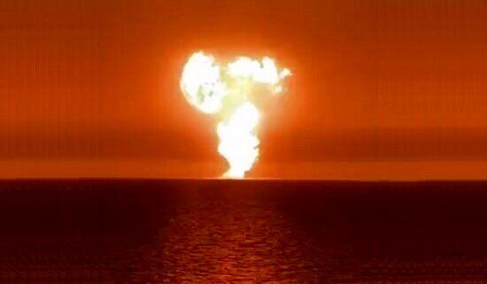 فوران گلفشان؛ محتملترین دلیل انفجار در خزر