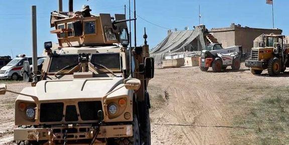 حمله به کاروان نظامیان آمریکایی در مسیر سوریه به عراق