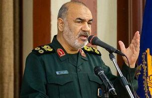 فرمانده کل سپاه پاسداران: هرکسی که از حریم مرزهای ما تجاوز کند، می خورد / هر کس می خواهد سرزمین اش میدان اصلی جنگ شود بسم الله