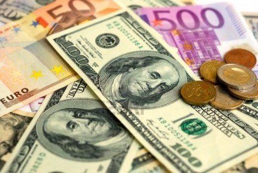 نرخ ۳۹ ارز بین بانکی ۲۹در آذرماه ۹۷